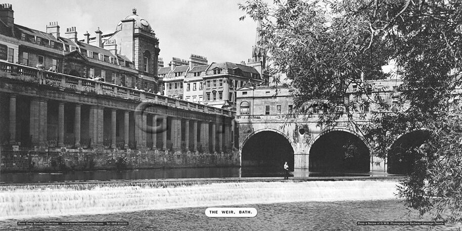 Bath, The Weir - Great Western Railway