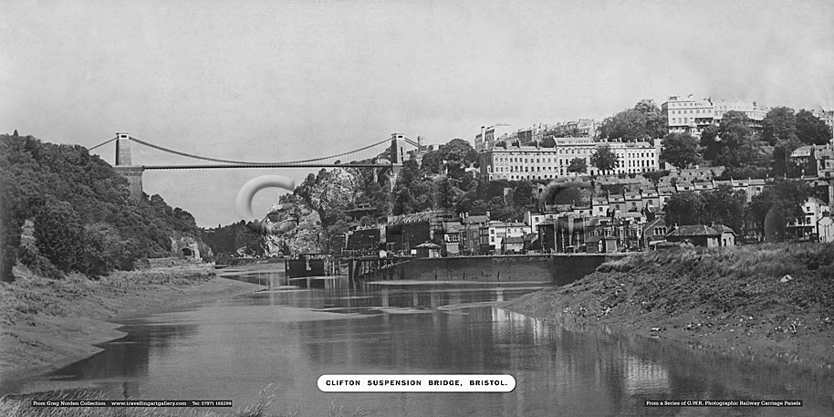 Clifton Suspension Bridge, Bristol - Great Western Railway