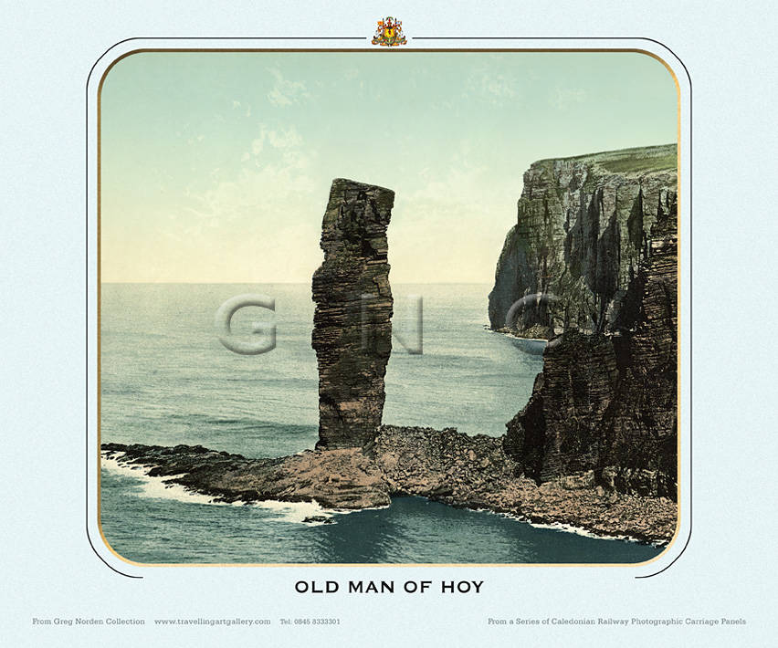 Old Man Of Hoy, Orkney Isles - Caledonian Railway