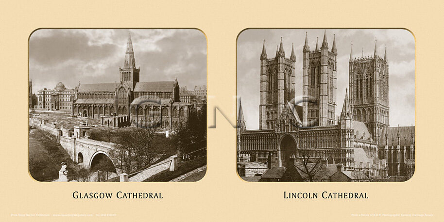 Lincoln Cathedral  [Spires] - East Coast Joint Stock