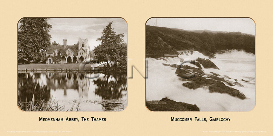 Muccomer Falls, Gairlochy - East Coast Joint Stock