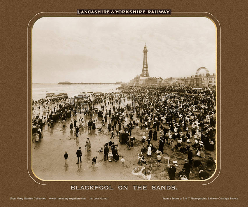 Blackpool On The Sands - Lancashire and Yorkshire Railway