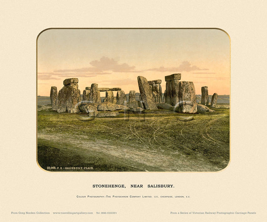 Stonehenge, Near Salisbury  - Photochrom (various railways)