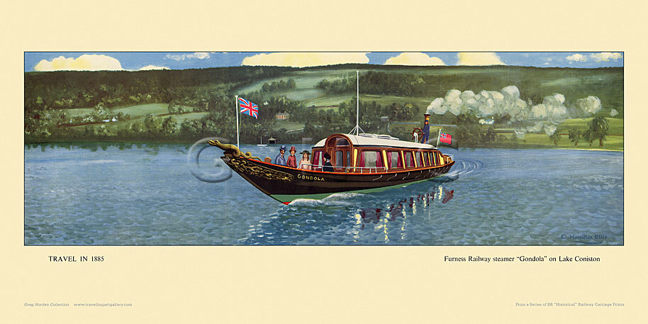 1885 Furness Railway steamer