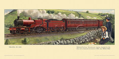 1905 Midland Railway Manchester express nr Millers Dale by Cuthbert Hamilton-Ellis