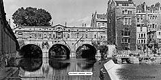 Bath, Pulteney Bridge - Great Western Railway