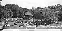 Bath, Parade Gardens - Great Western Railway