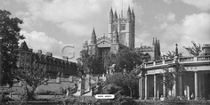 Bath Abbey [View II] - Great Western Railway