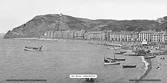 Aberystwyth, The Beach - Great Western Railway