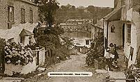 Bodinnick Village, Nr Fowey, - Great Western Railway