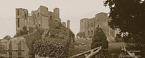 Kenilworth Castle - London Midland & Scottish Railway