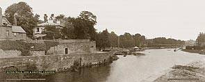 Chester, River Walk, Dee & Groves - London Midland & Scottish Railway
