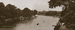 Chester, River & Tow Path - London Midland & Scottish Railway