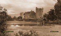 Stokesay Castle [View II] - London Midland & Scottish Railway