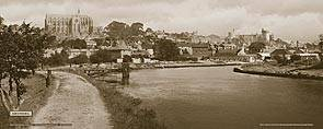 Arundel [Castle & Church from River] - Southern Railway