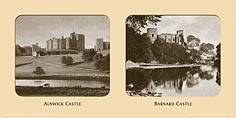 Alnwick Castle [from across River] - East Coast Joint Stock