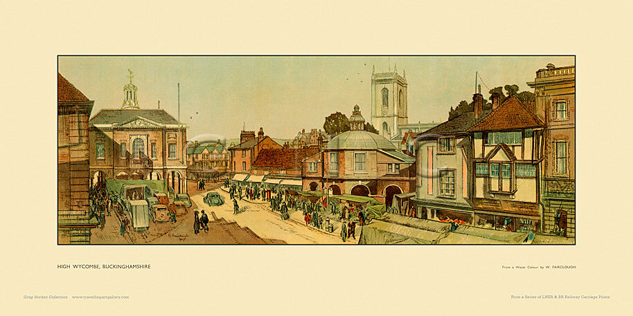 High Wycombe by Wilfred Fairclough