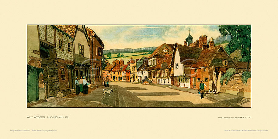 West Wycombe by Horace Wright