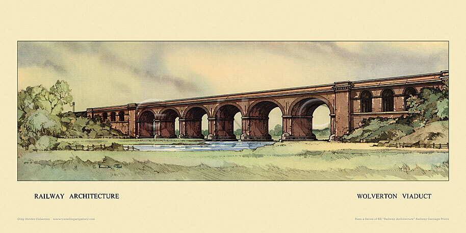 Wolverton Viaduct by Kenneth Steel