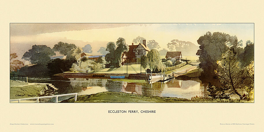 Eccleston Ferry by Charles Knight