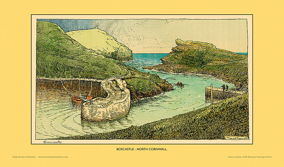 Boscastle by Donald Maxwell