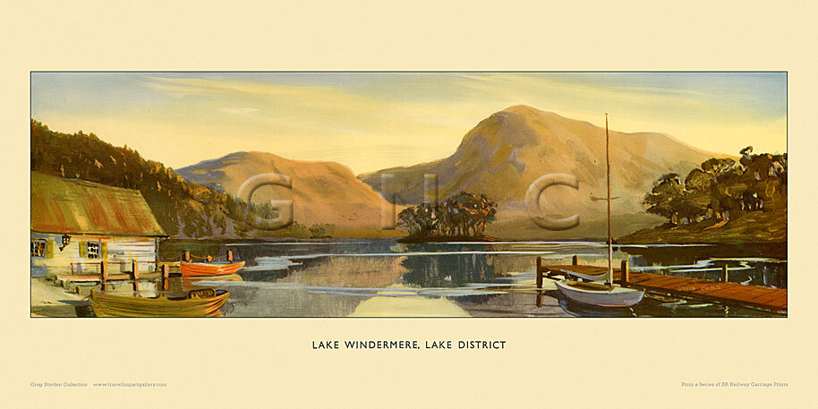 Lake Windemere by Charles David Cobb