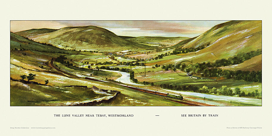 Lune Valley nr Tebay by John A Greene