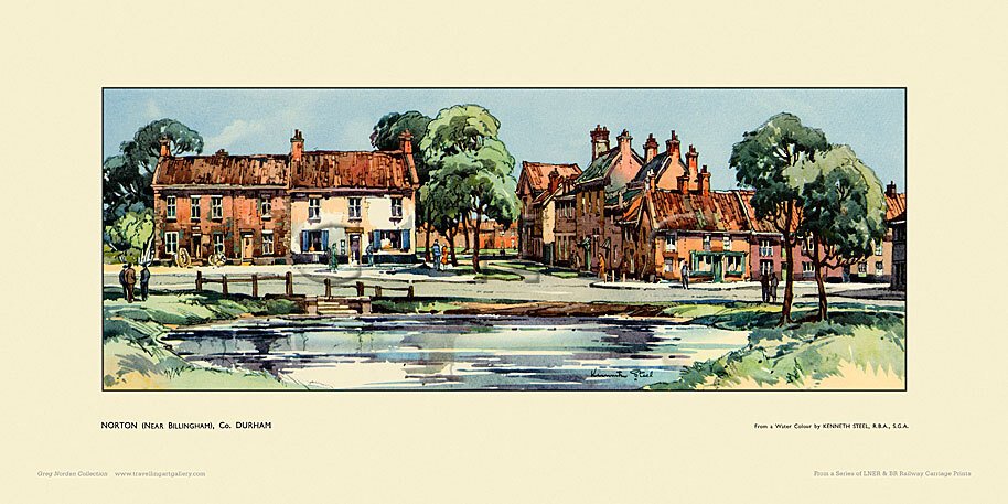 Norton, nr Billingham by Kenneth Steel