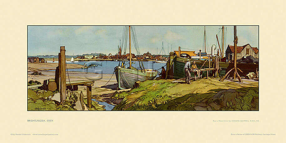 Brightlingsea by Leonard Russell Squirrell
