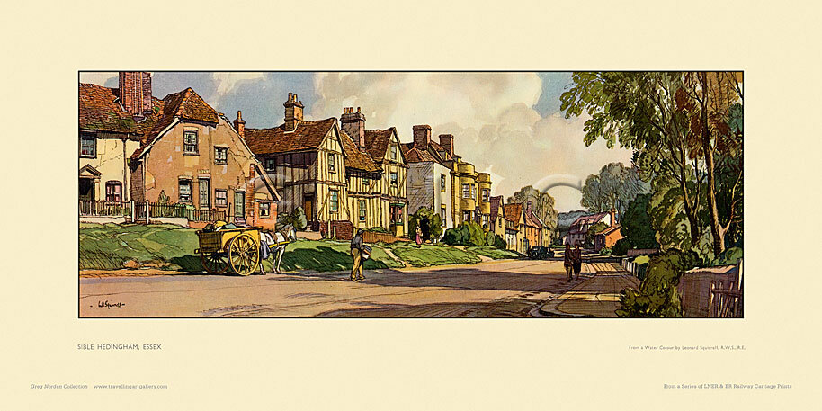 Sible Hedingham by Leonard Russell Squirrell