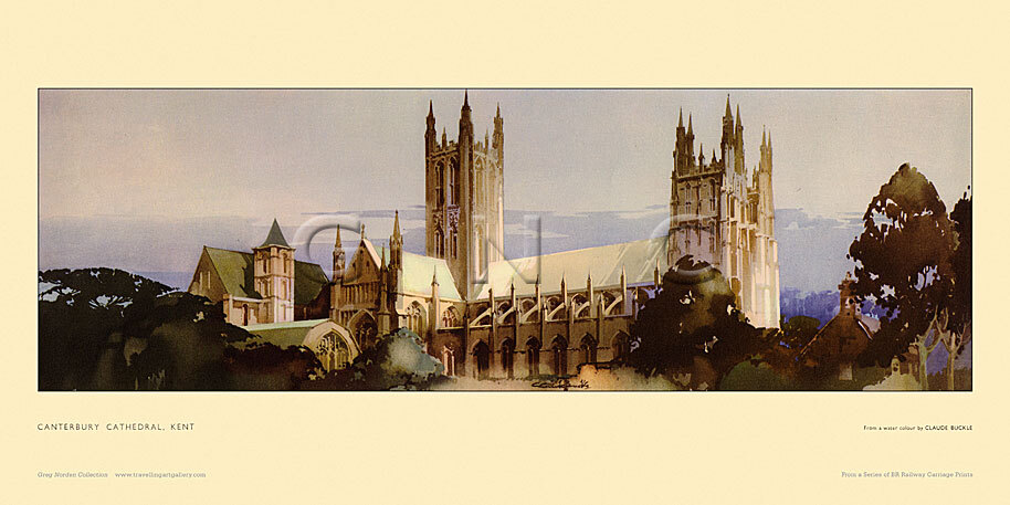 Canterbury Cathedral by Claude Buckle