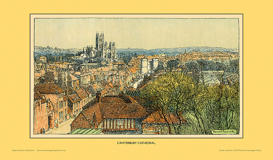 Canterbury Cathedral by Donald Maxwell