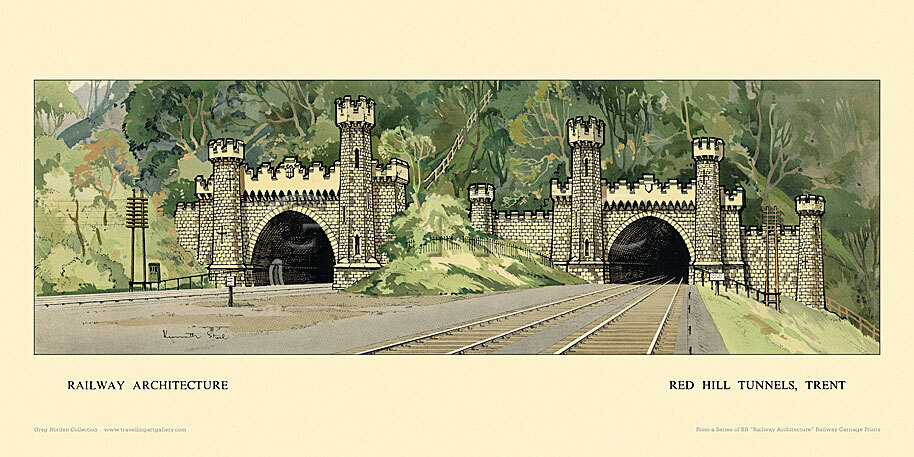 Red Hill Tunnels, Trent by Kenneth Steel