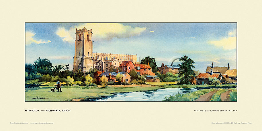 Blythburgh, nr Halesworth by Henry James Denham