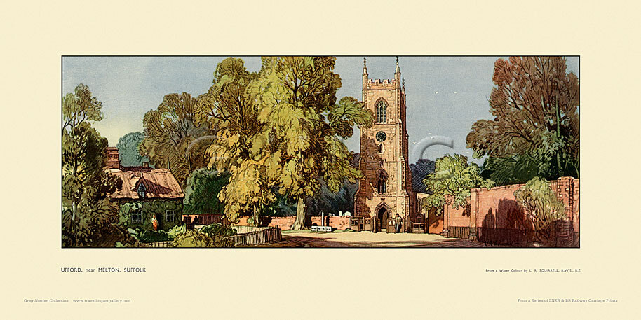 Ufford, nr Melton by Leonard Russell Squirrell