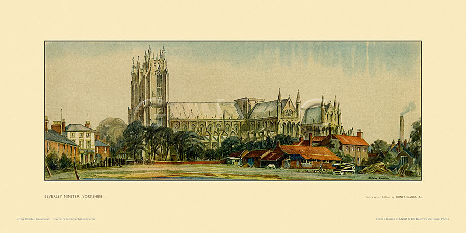Beverley Minster by William Sidney Causer