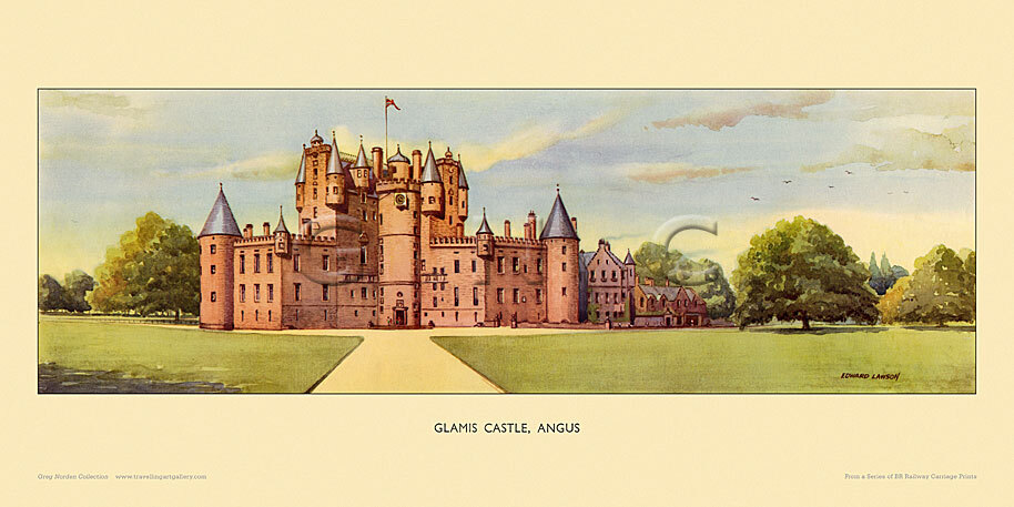 Glamis Castle by Edward Lawson