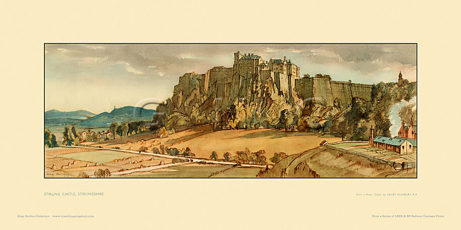 Stirling Castle by Sir Henry George Rushbury