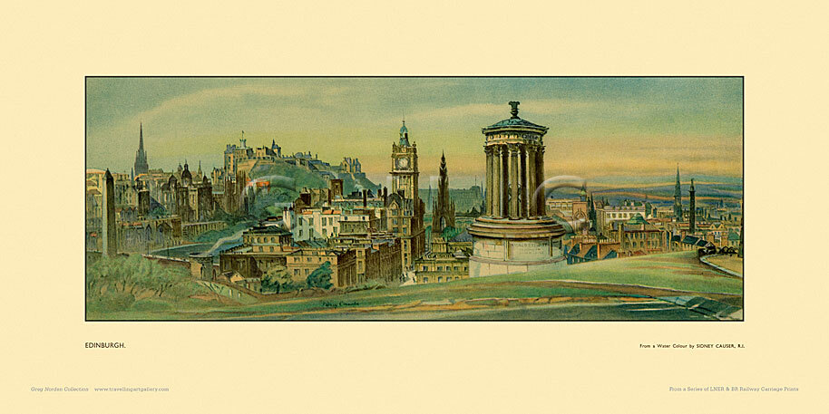 Edinburgh by William Sidney Causer