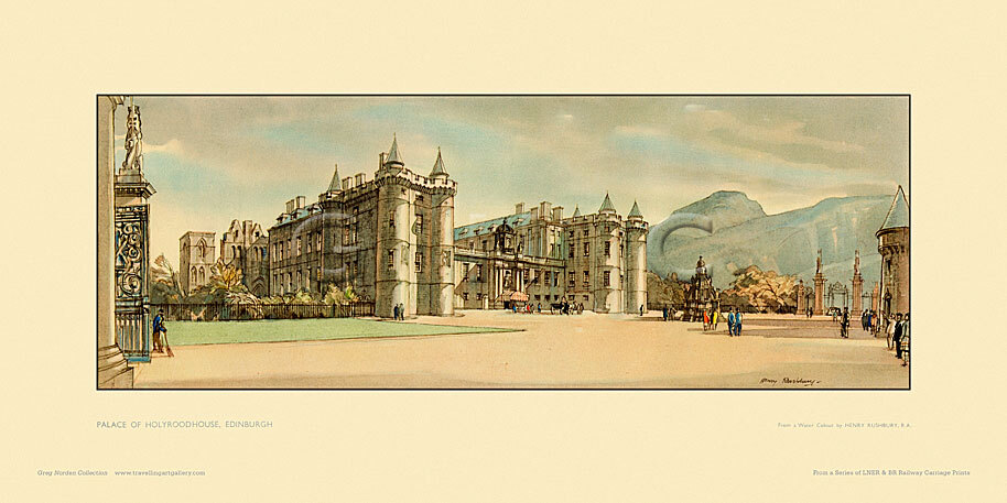 Edinburgh, Palace of Holyroodhouse by Sir Henry George Rushbury