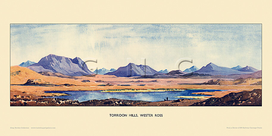 Torridon Hills by William Douglas Macleod