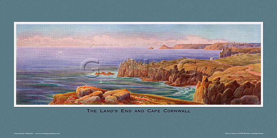 Land's End & Cape Cornwall by Claude Montague Hart