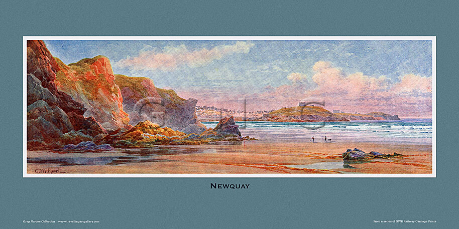 Newquay by Claude Montague Hart
