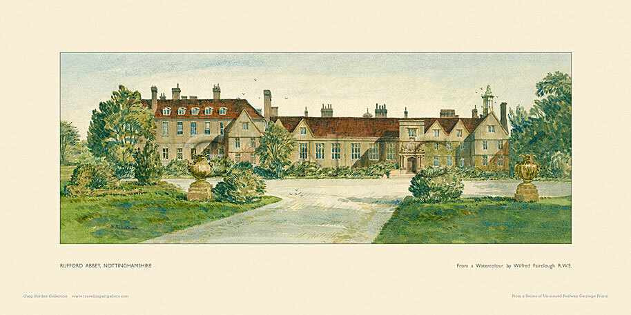 Rufford Abbey by Wilfred Fairclough