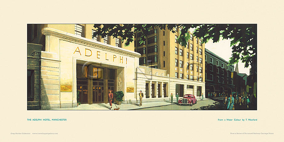 London, Adelphi Hotel by Artist Unknown