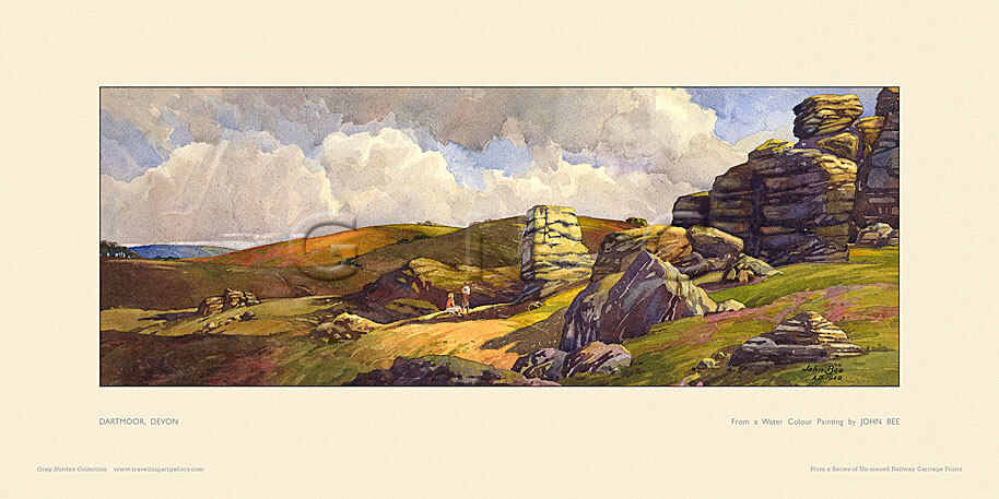 Dartmoor by John Francis Bee