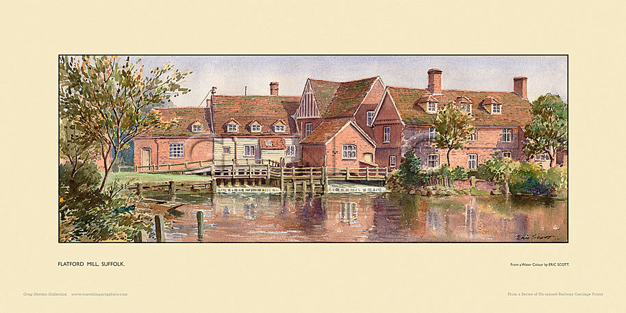 Flatford Mill by Eric R Scott