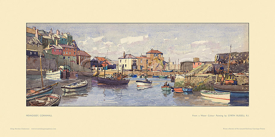 Mevagissey by Gyrth Russell