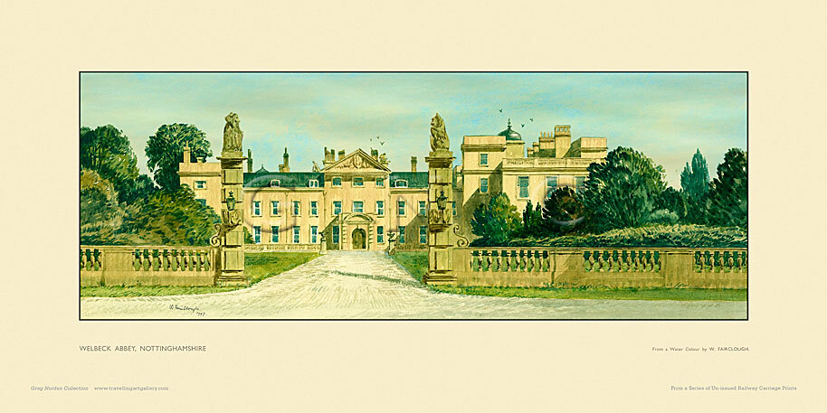 Welbeck Abbey by Wilfred Fairclough