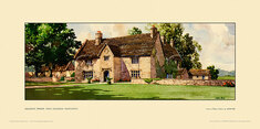Sulgrave Manor nr Helmdon by John Francis Bee